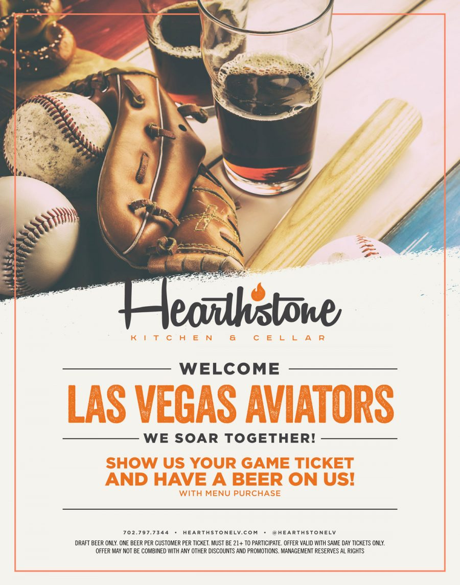 Las Vegas Aviators Ballpark: Stop into Hearthstone Before the Game!