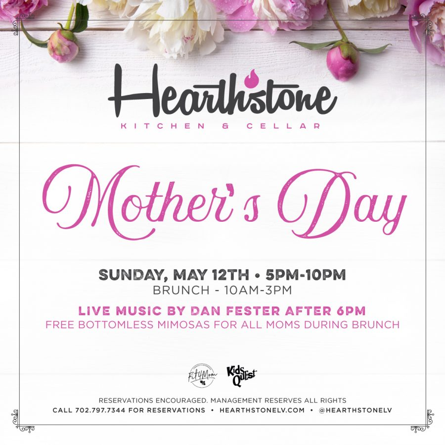 Mother's Day 2019 in Summerlin at Hearthstone
