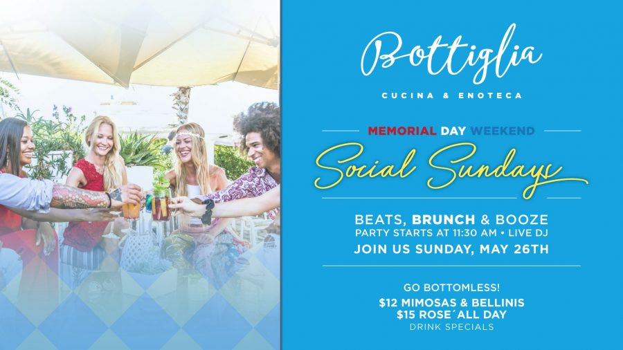 Celebrating Memorial Day Weekend At Bottiglia – Henderson's Hottest Brunch Spot