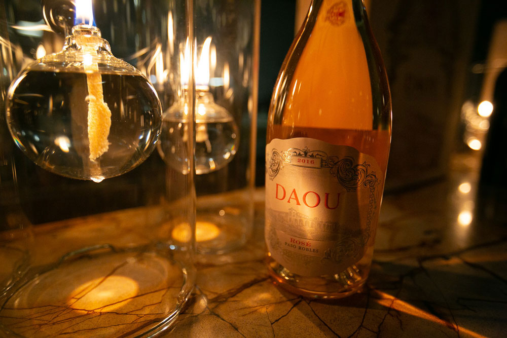 Daou Rosé in a Glass at Lionfish San Diego