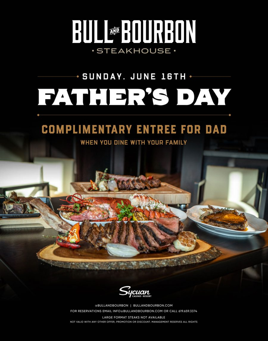 Why Bull & Bourbon is THE Place to Take Dad This Father's Day