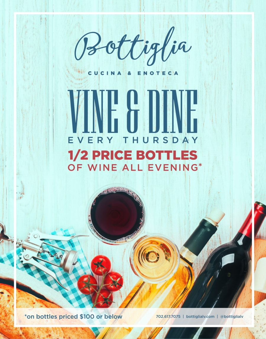Why Vine and Dine Is Your New Thursday Tradition at Bottiglia