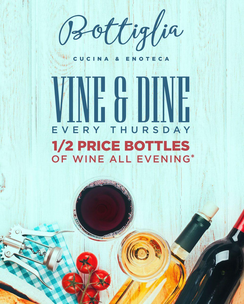 Vine & Dine Bottiglia - Henderson Italian Food