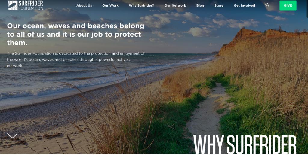Surfrider Foundation Homepage