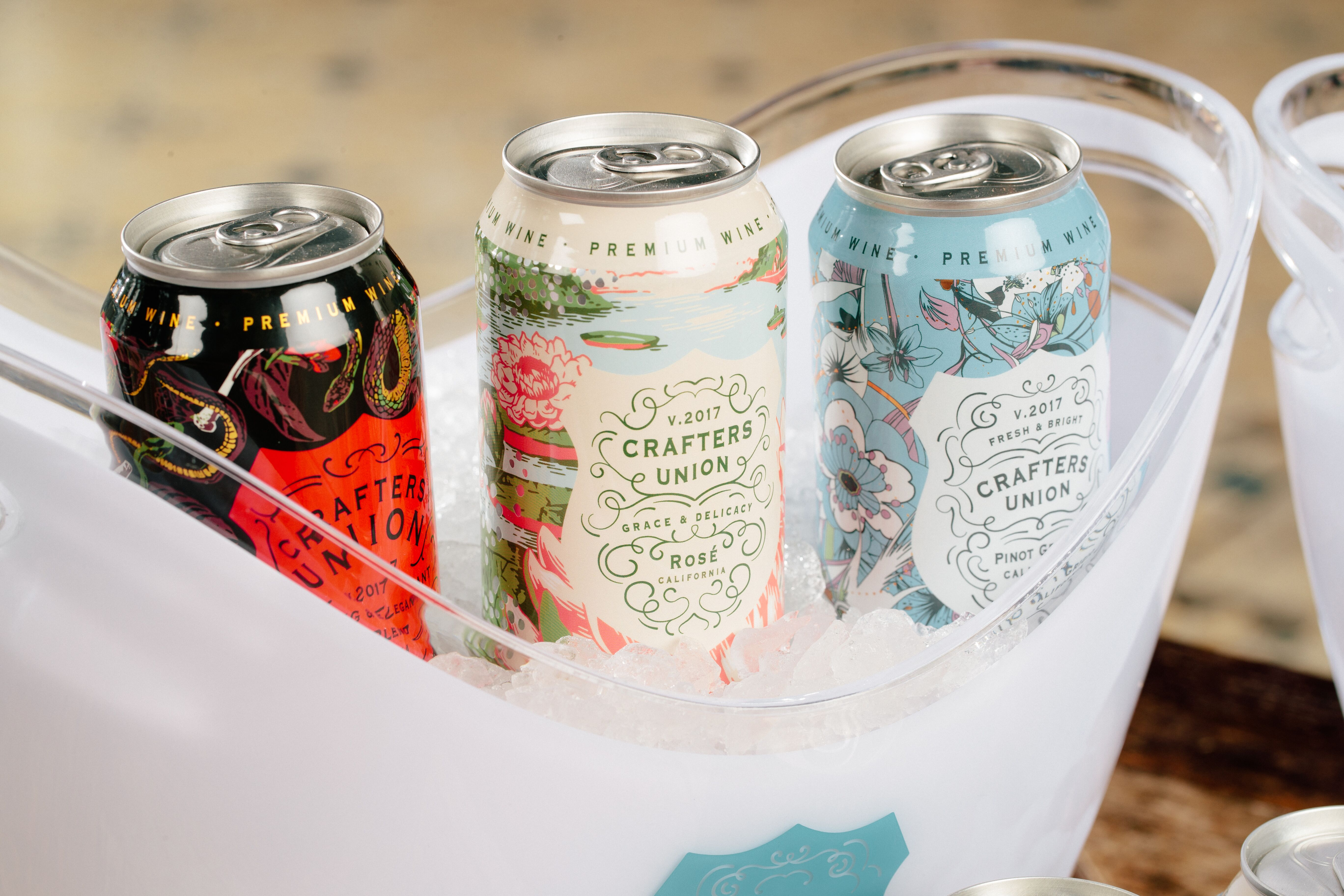 Crafters Union Canned Wine Bucket