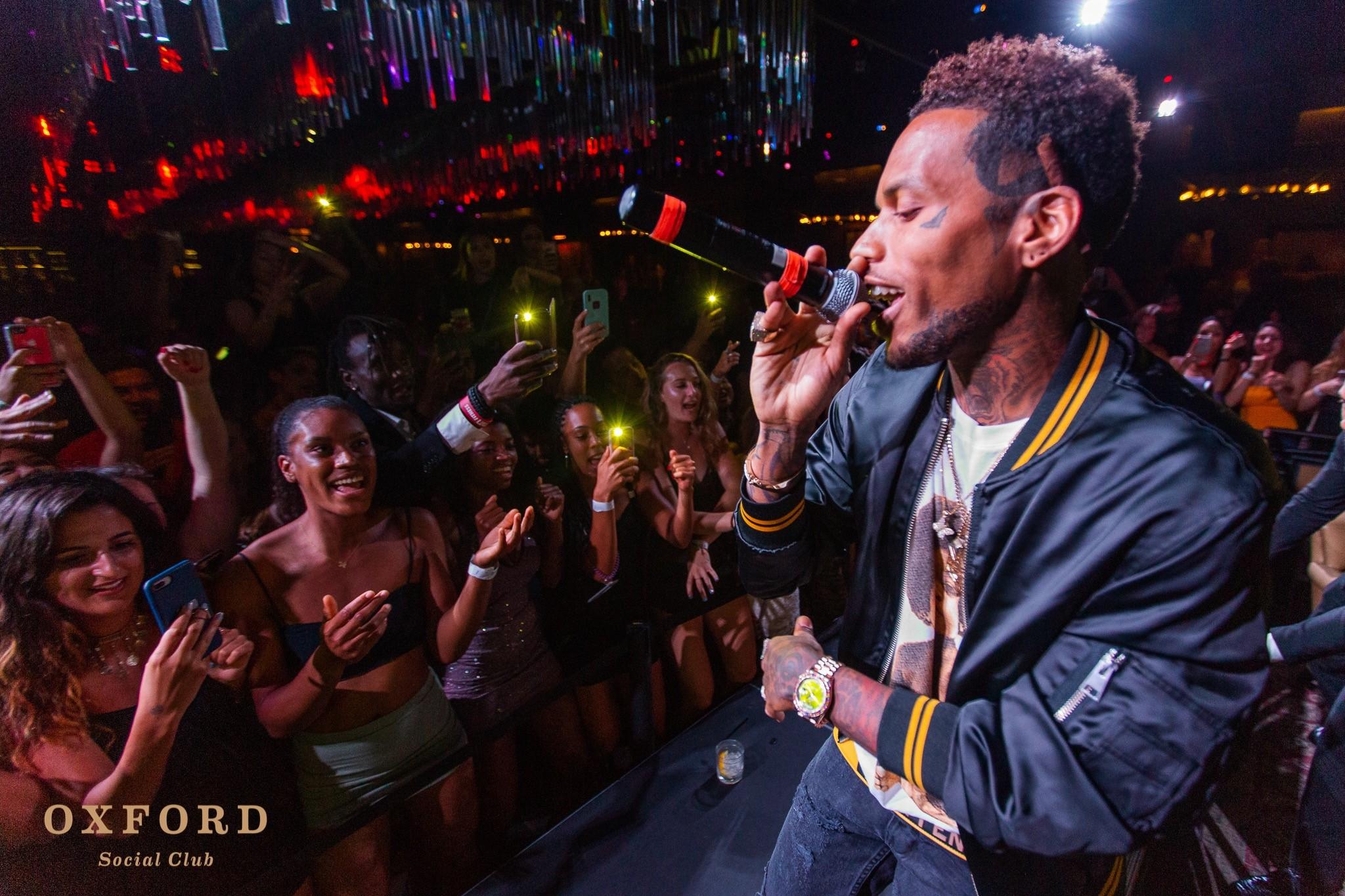 Singer at oxford social club