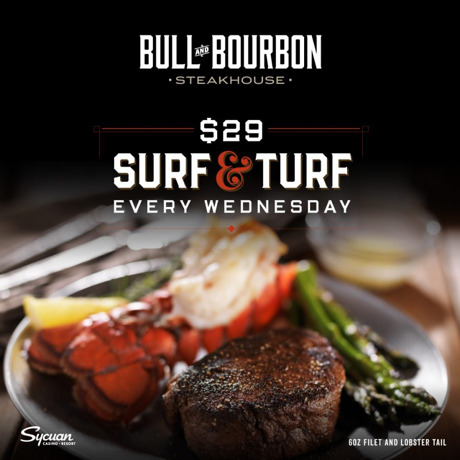 Why Surf & Turf Wednesdays are Unforgettable at Bull & Bourbon