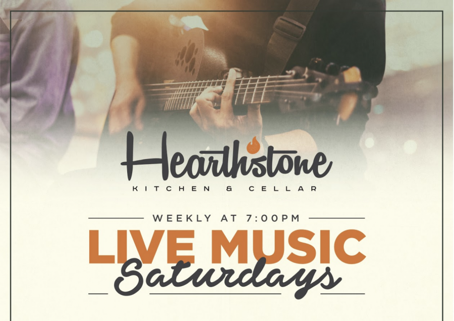 Spend your Saturdays Enjoying Live Music at Hearthstone!