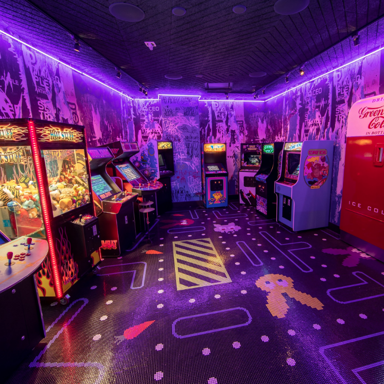 Arcade at Greene St Kitchen - Palms Casino Restaurant