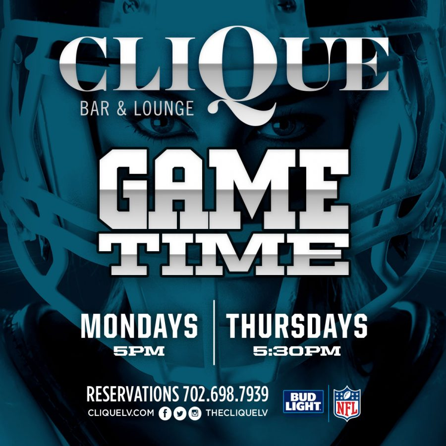 Enjoy Watching Football in Las Vegas at Clique