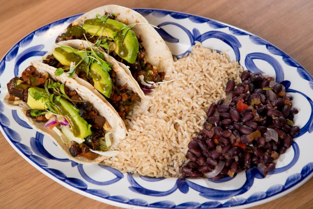 healthy dining options at borracha