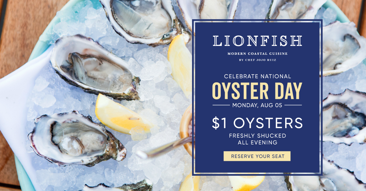 Facts You Should Know About National Oyster Day