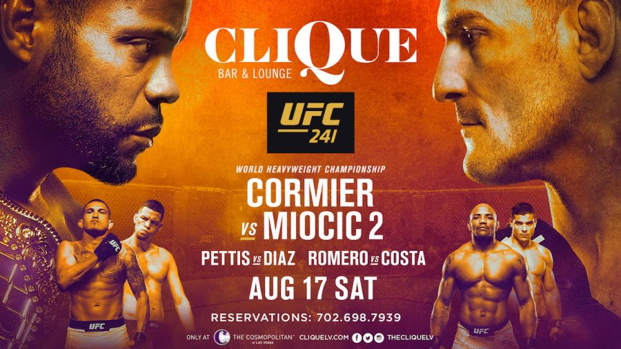 Watch UFC 241 on the Strip at Clique!