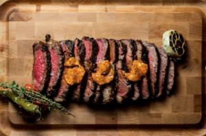 Steak at Bull And Bourbon