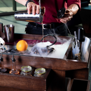 Mixology Expert makes Drinks at Elicit