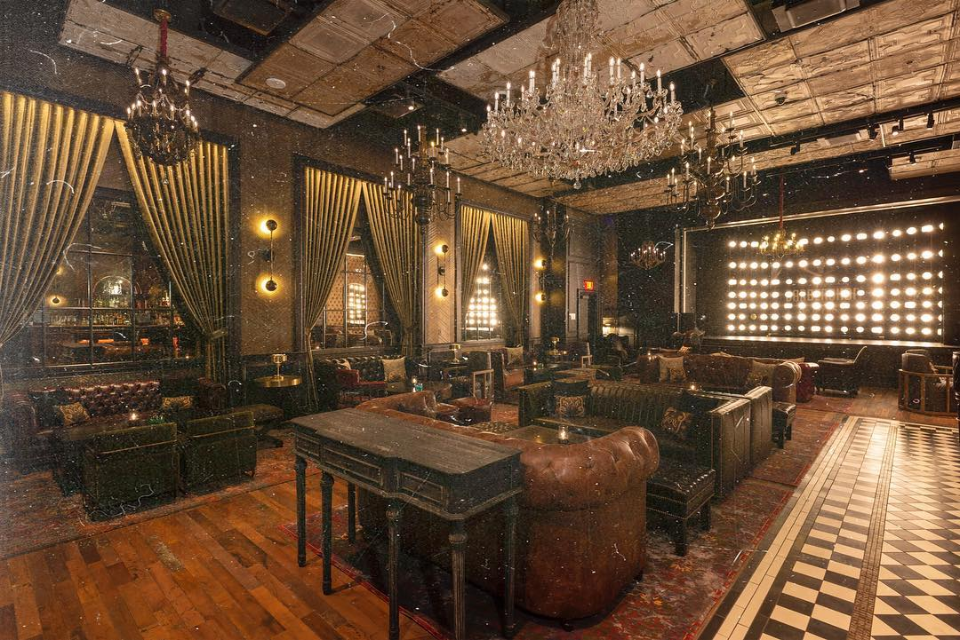 Main parlor- The Barbershop Las Vegas