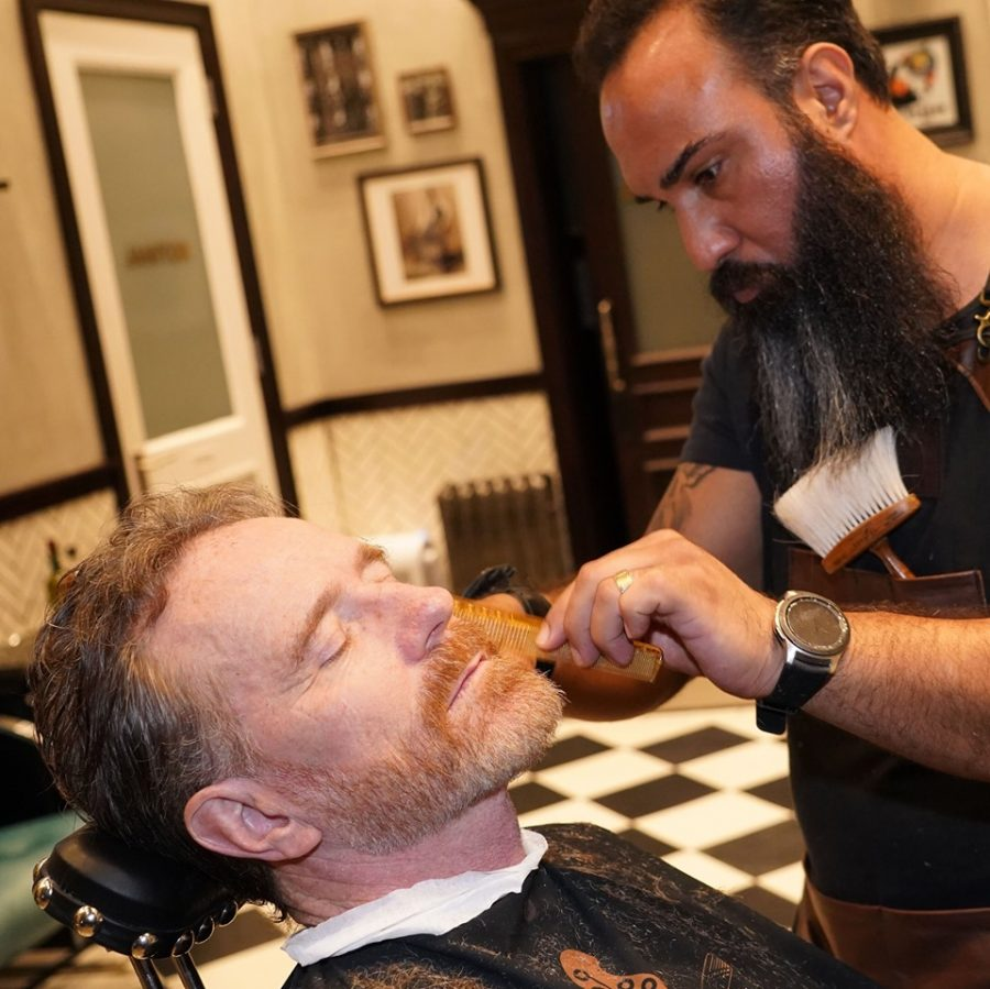 An Interview With One Of The Barbershops Lead Barbers, Luigi