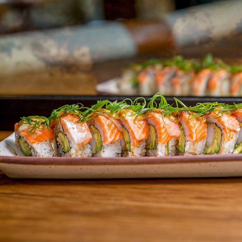 Specialty Sushi - Berzerk Roll at Lionfish