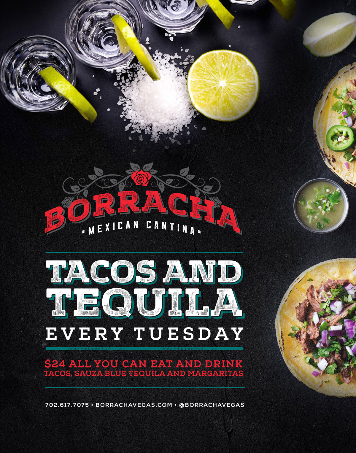 taco tuesday henderson at borraha