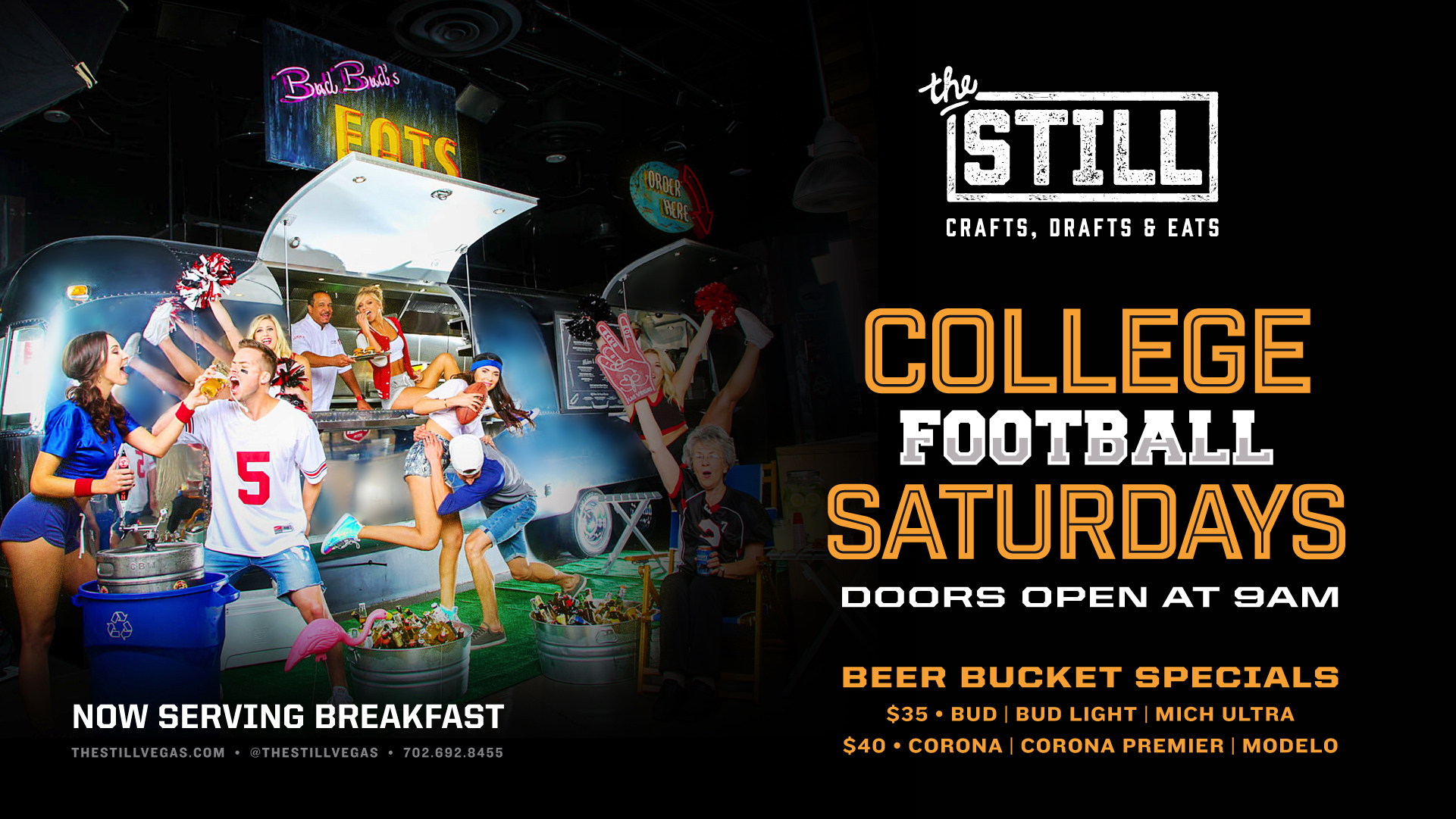 college football viewing las vegas at the still