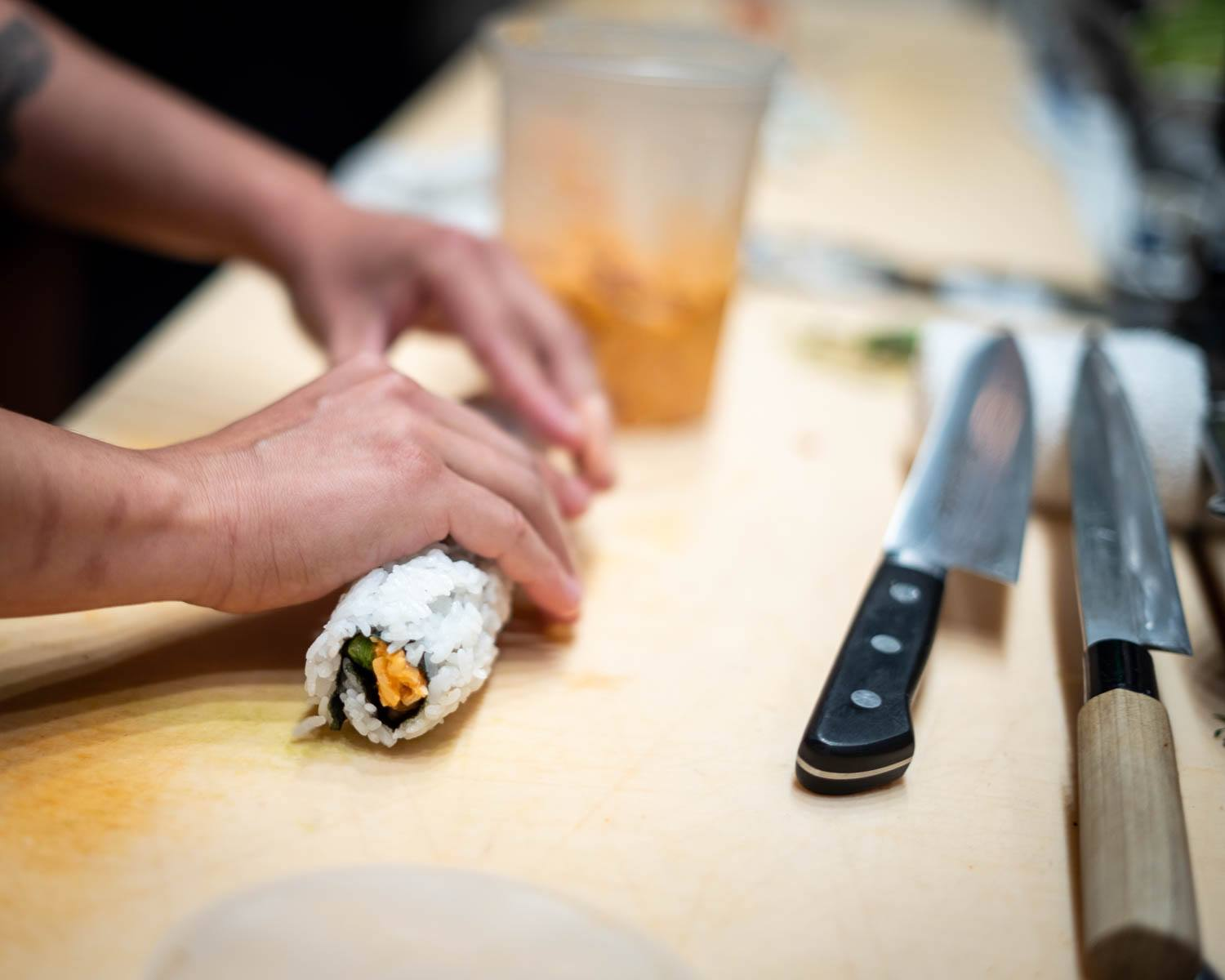 Specialty Sushi at Lionfish