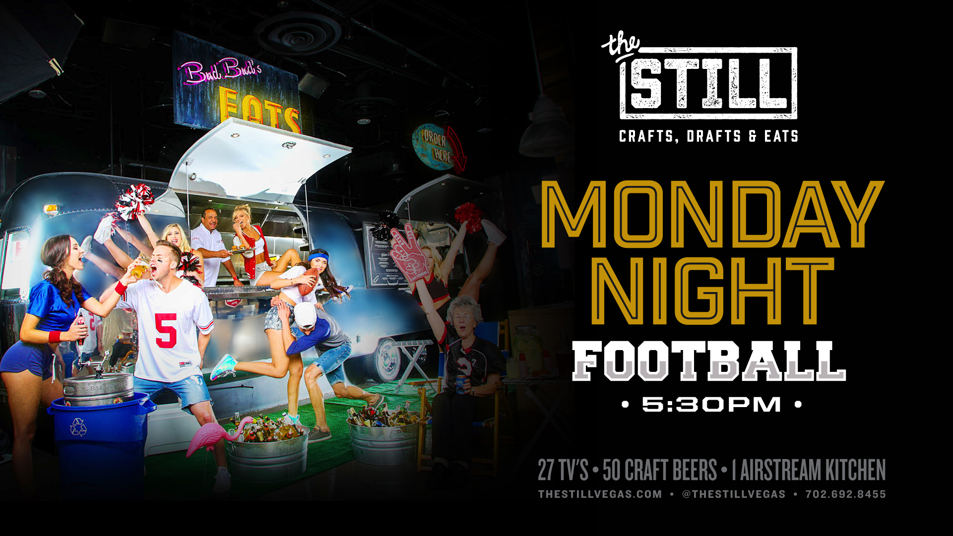 monday night football viewing las vegas at the still