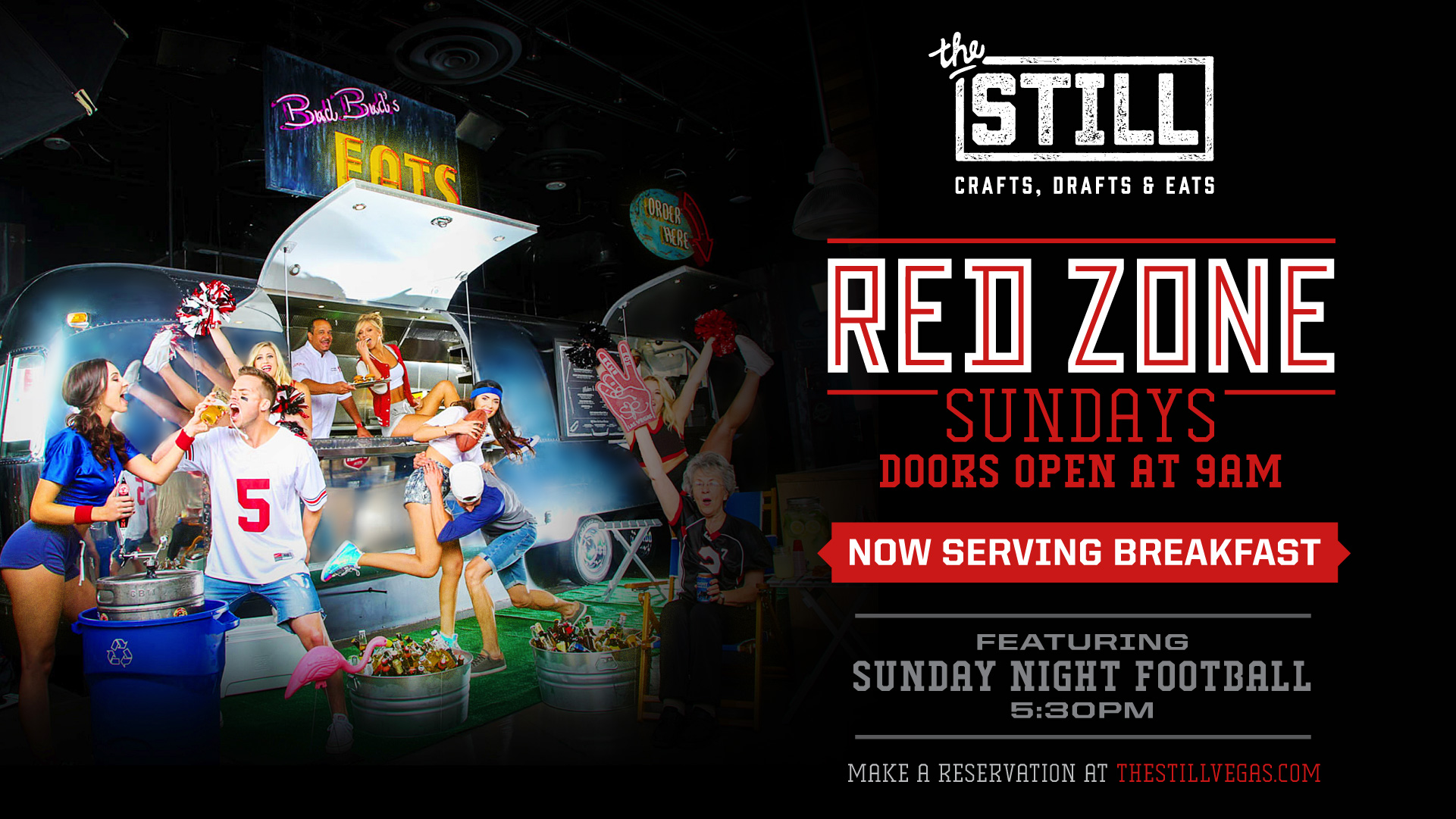 red zone football viewing las vegas at the still