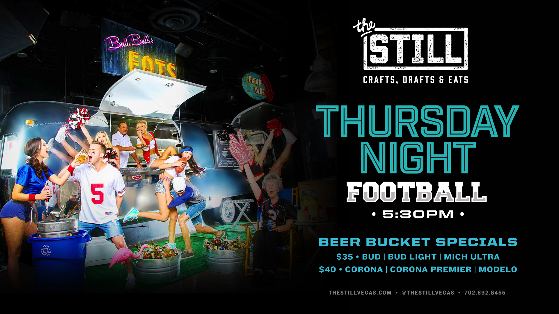 thursday night football viewing las vegas at the still