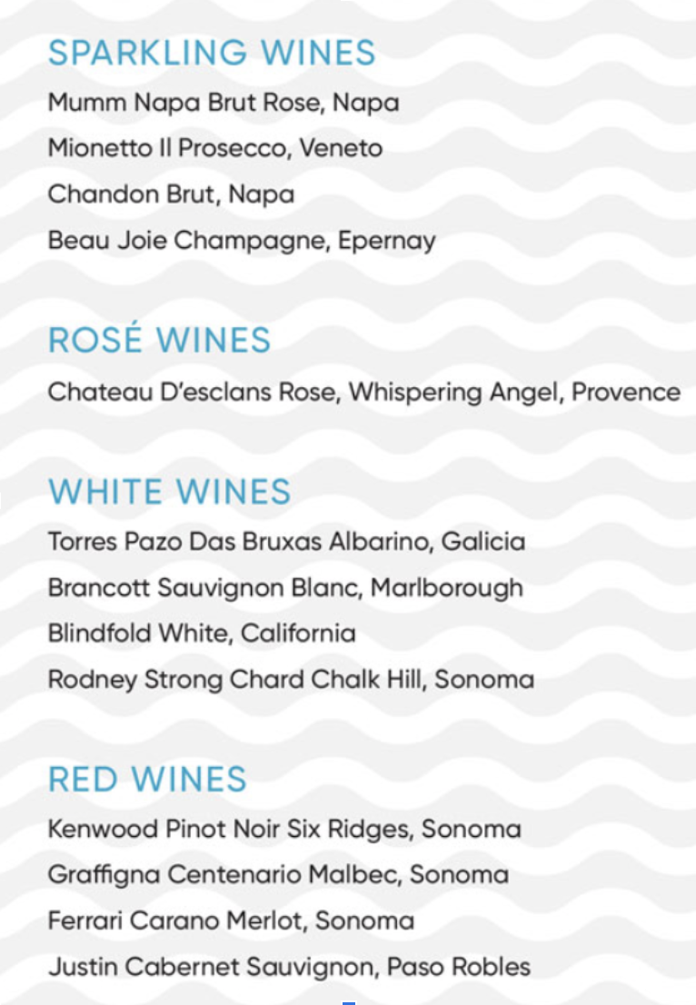 A Guide to Retreat's Wine List