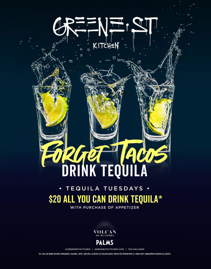 Why Tequlia Tuesday Is Better at Greene St. Kitchen