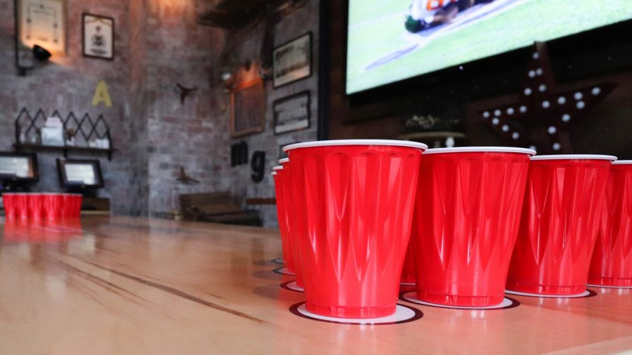 Football & Beer Pong