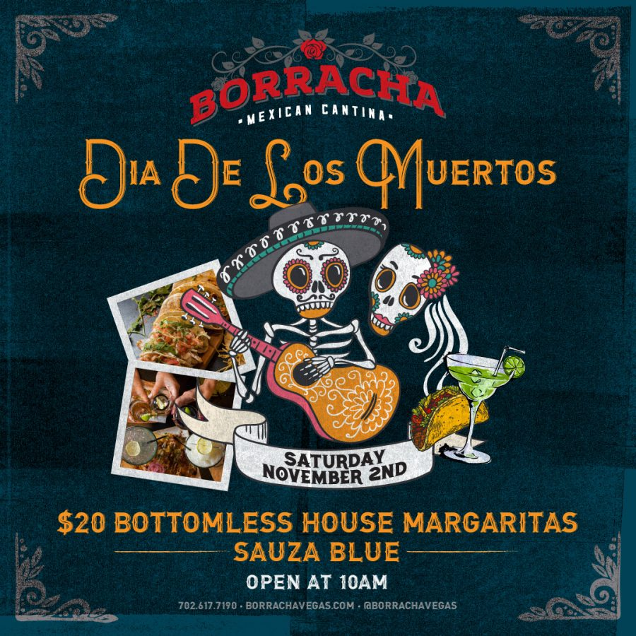 Celebrate the Day of the Dead with Borracha
