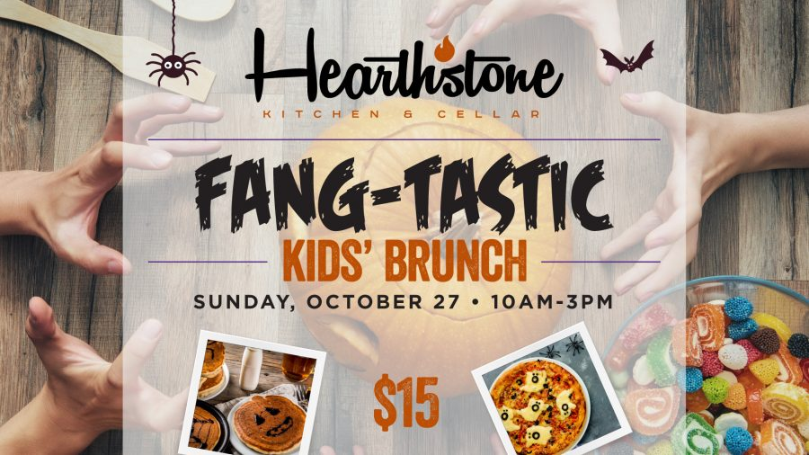 Bring the Family for Hearthstone's Fang-Tastic Halloween Kid's Brunch