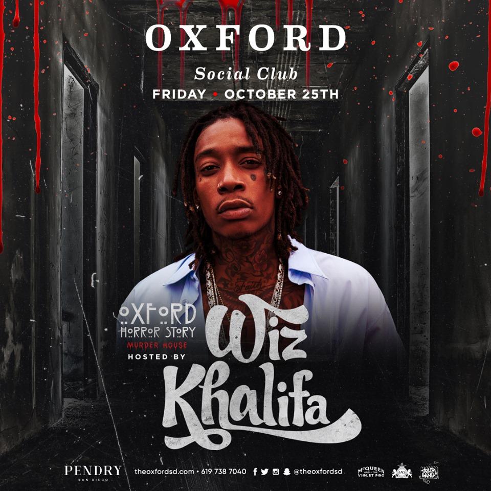 Wiz Khalifa - Horror Story - Oxford