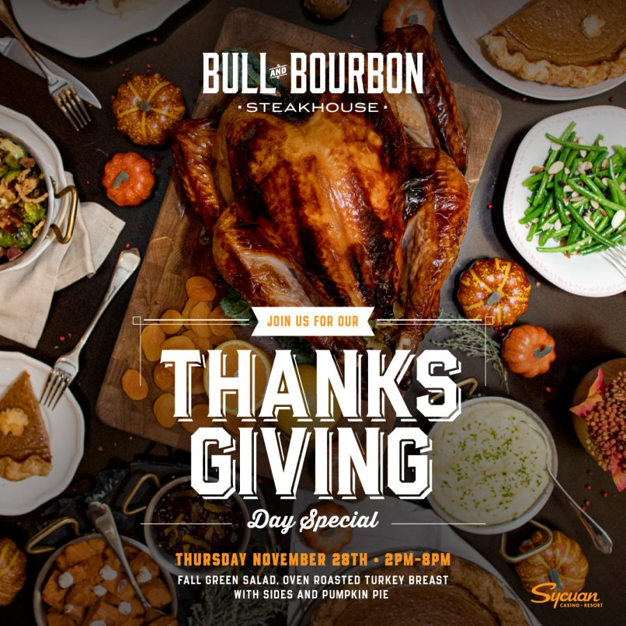 Celebrate Thanksgiving with an Incredible Feast at Bull & Bourbon