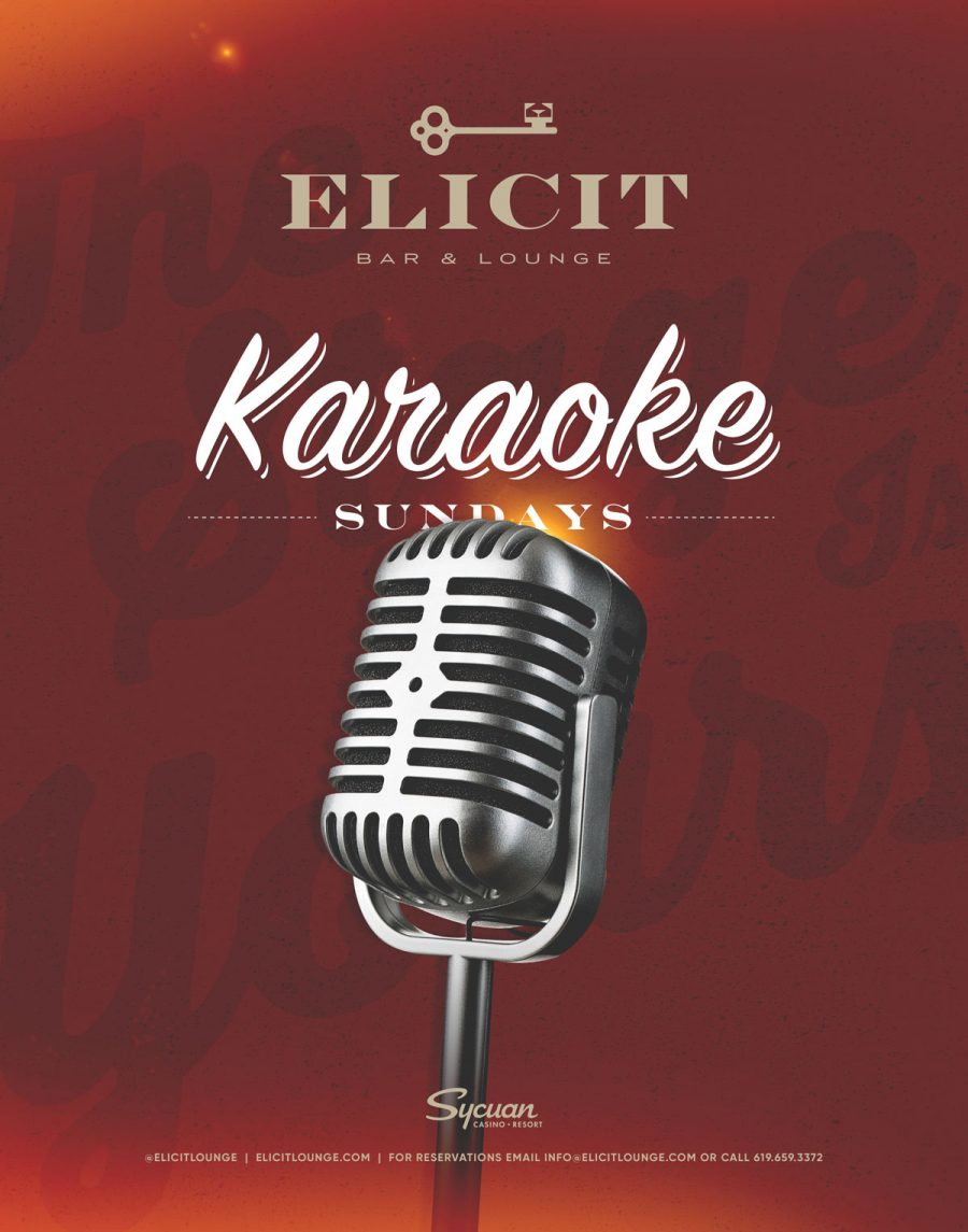 Come Release Your Inner Stage Diva on Karaoke Sundays at Elicit