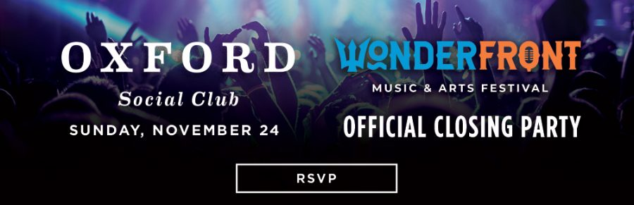Celebrate Wonderfront Festival at Oxford!