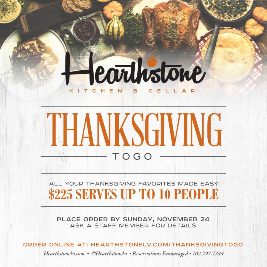 Thanksgiving To Go At Hearthstone