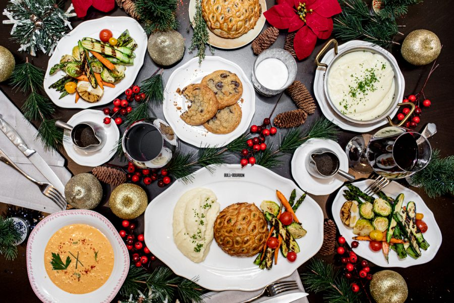 Come Join the Christmas Feast with the Holiday Special at Bull & Bourbon