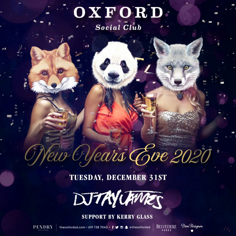 New Years Eve at Oxford Social Club