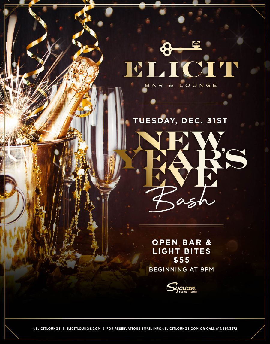 New Year's Eve at Elicit