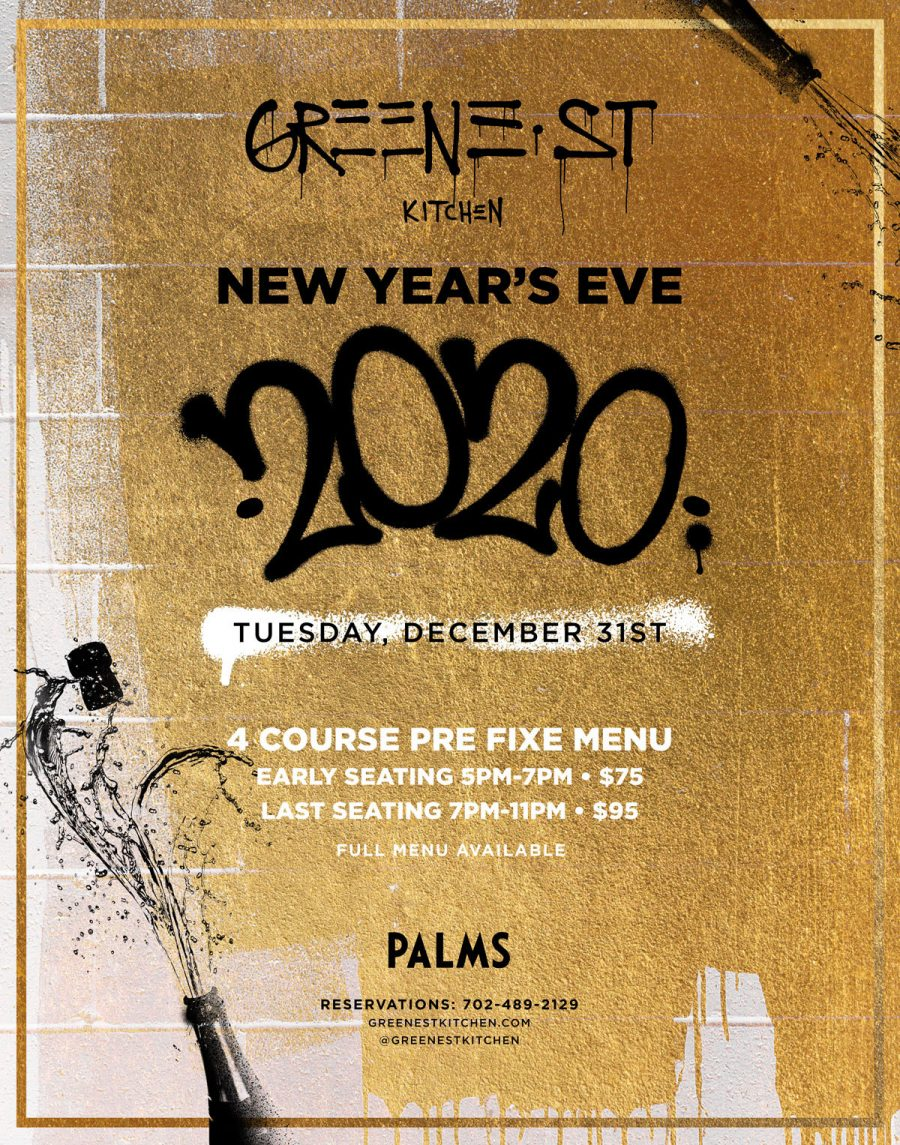 Spend New Year's Eve 2019 at Greene Street