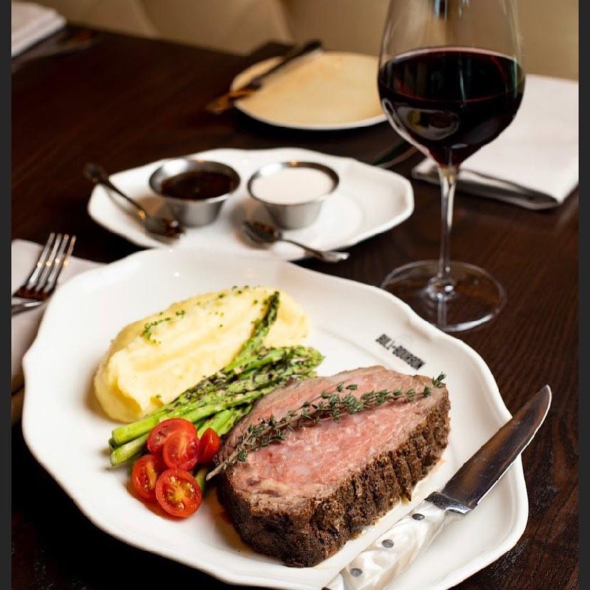 Bull and Bourbon Rump Steak