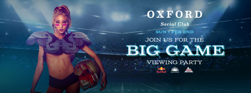 Join Us For the Super Bowl