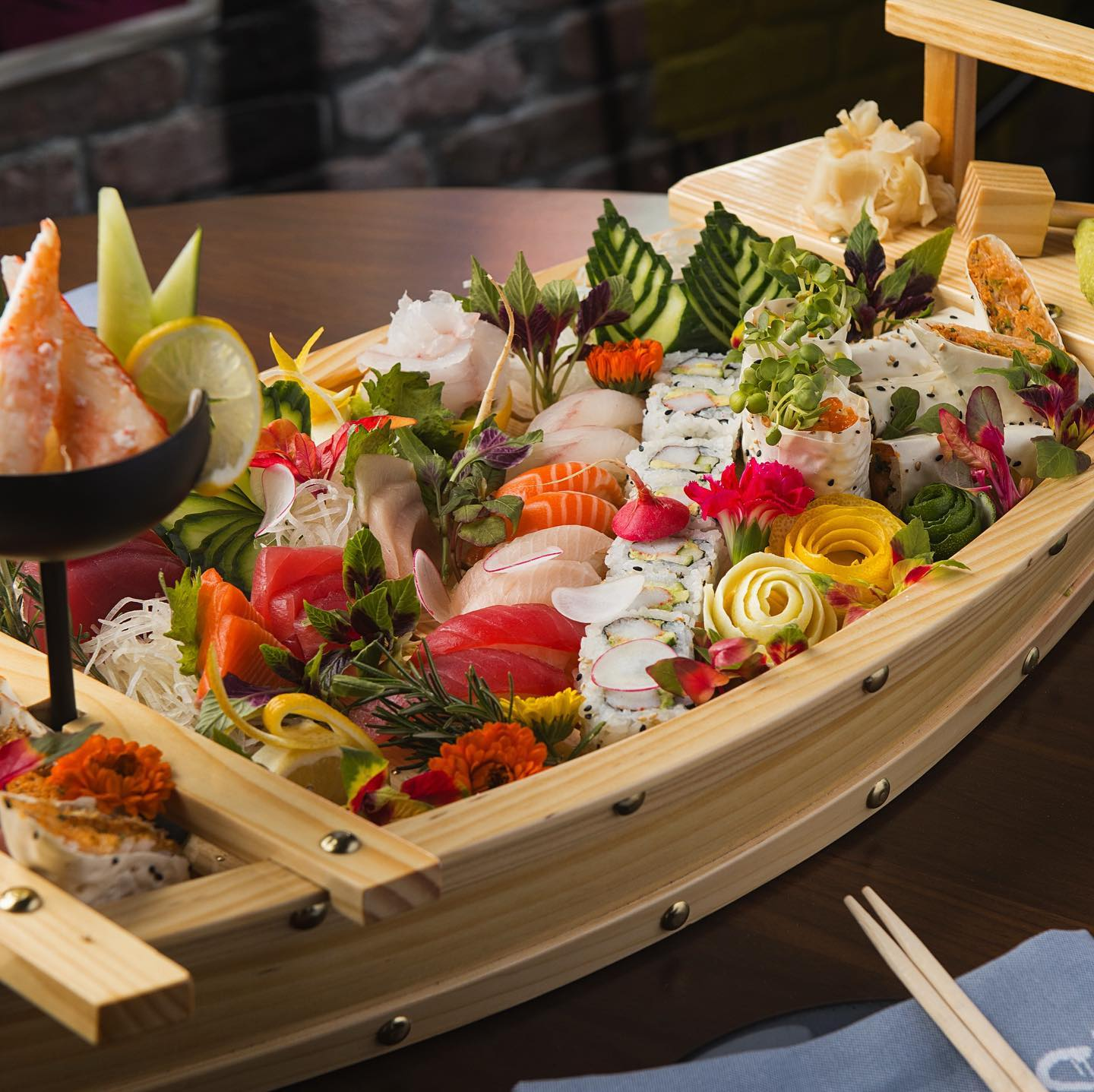 Global Flavors- Sushi Yacht