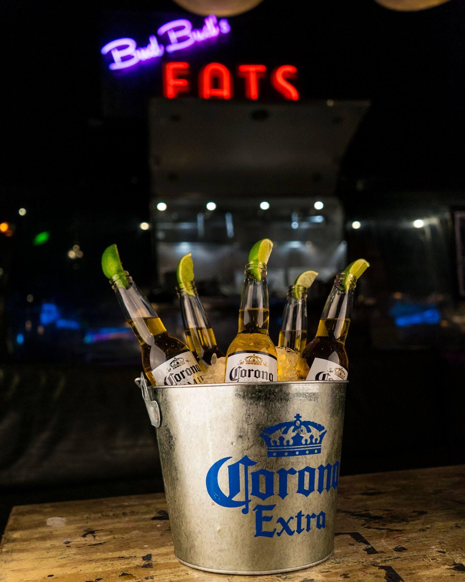 Corona Brackets and beer