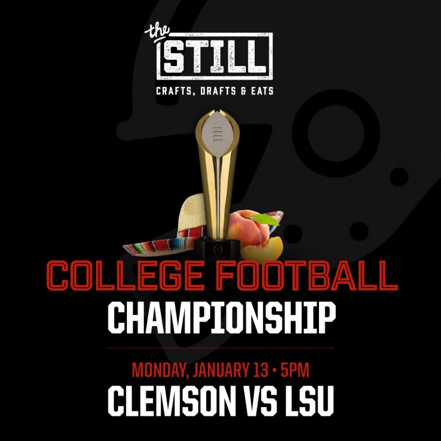 College Football Championship – January 13