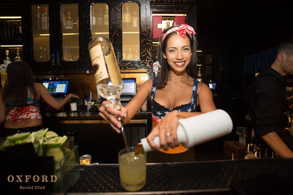 The Oxford Social- Pouring Drink
