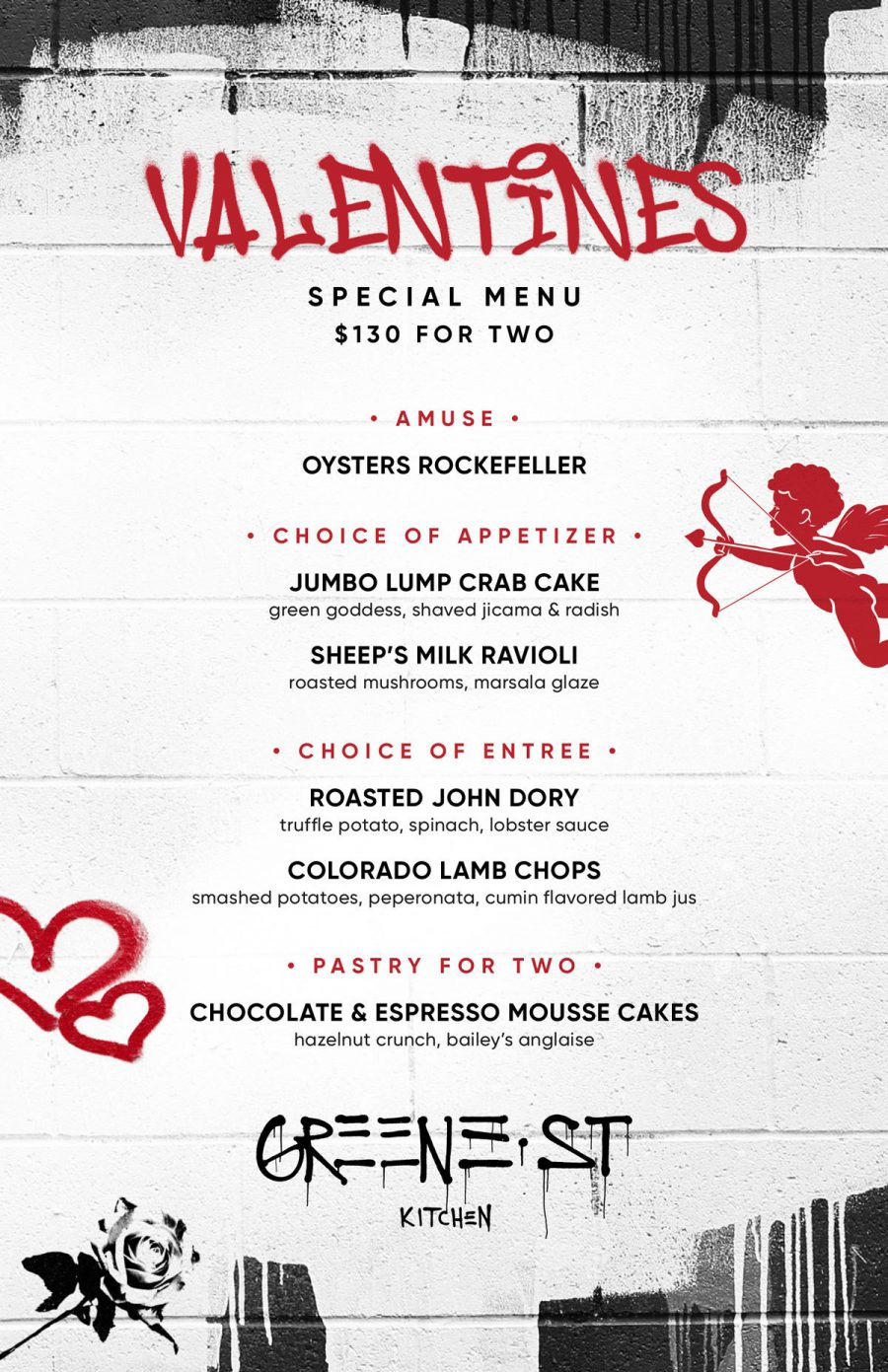 Valentine's Day at Greene Street
