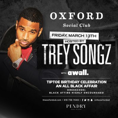 Trey Songz at The Oxford Social Club